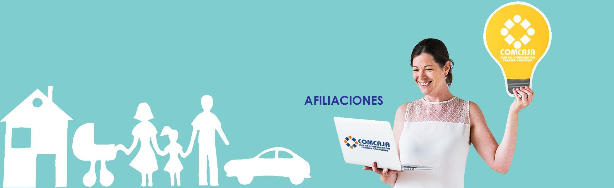 Afiliaciones-Comcaja